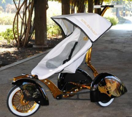 Wagon Gold Series Wheelchair Electric Cart Stroller Chair Bike